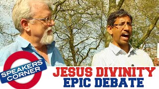 Jay Smith vs Shabir Yusuf | Religous Debate | Did Jesus Claim To Be God? | Speakers Corner