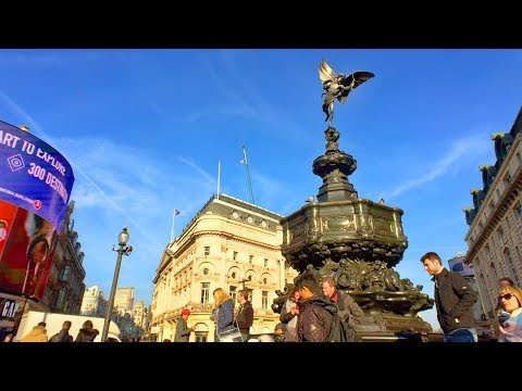 LONDON WALK | Knightsbridge to Holborn, via Piccadilly Circus and Shaftesbury Avenue | England