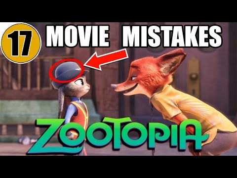 17 Mistakes of ZOOTOPIA You Didn't Notice