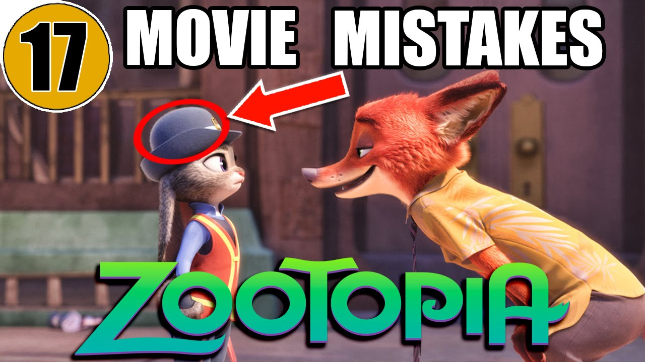 Mistakes Of ZOOTOPIA You Didnt Notice YouTube - 14 hidden things movies youve never noticed