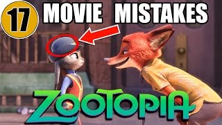 17 Mistakes of ZOOTOPIA You Didn't Notice thumbnail