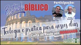 Estudo Bíblico | Nada de mim, tudo pela graça de Deus | 18/09/2020