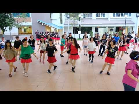 Private Affair—Christmas Line Dance Party 9 Dec 2017 @ Tampines Changkat Zone 4 RC
