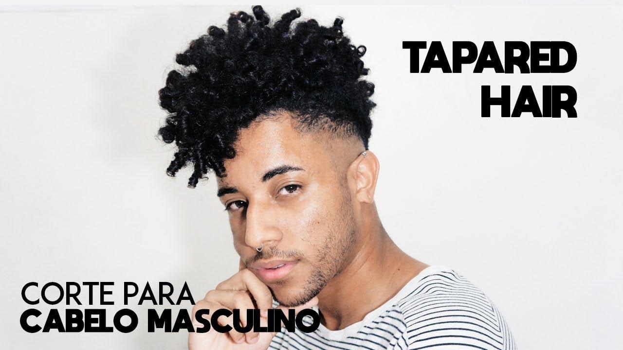 Corte Para Cabelo Crespocacheado Masculino Tapared Hair Marcos Ribeiro