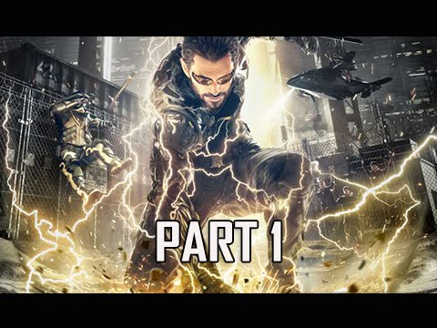 Deus Ex Mankind Divided Walkthrough Part 1 - Intro & Prologu