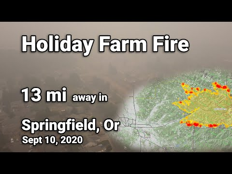 Springfield, OR - Holiday Farm Fire - Sept 10, 2020