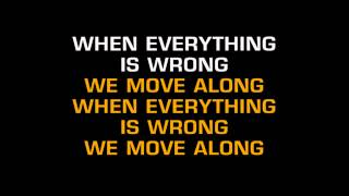 The All-American Rejects - Move Along (Karaoke)