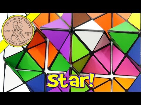 The Amazing Star Cube Transforming Geometric Puzzle - Stellated Rhombic Dodecahedron