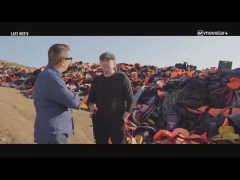 Serrat y Buenafuente programa especial refugiados desde Lesbos (Grecia)
