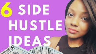 ⭐️Best 6 Side Hustle Ideas That Pay Well 2019