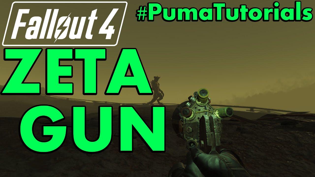 how to make zeta weapon