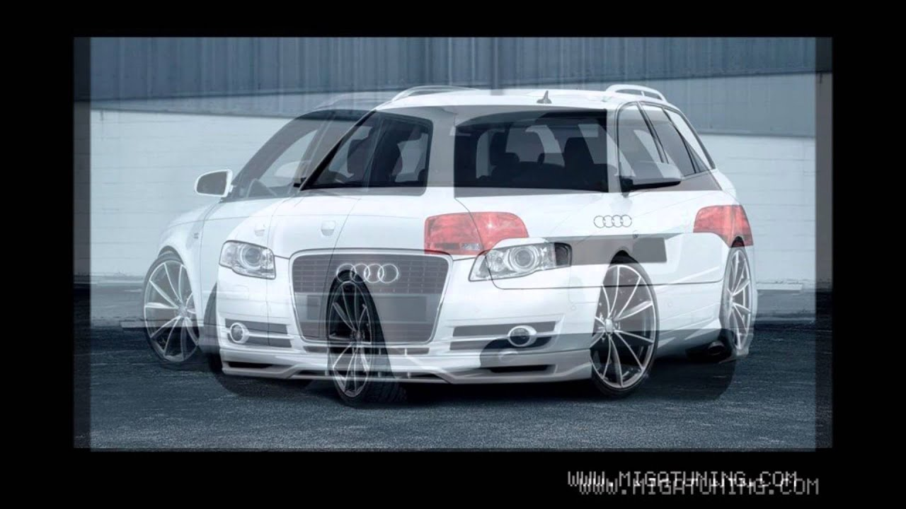audi a4 b7 tuning body kit youtube. Black Bedroom Furniture Sets. Home Design Ideas