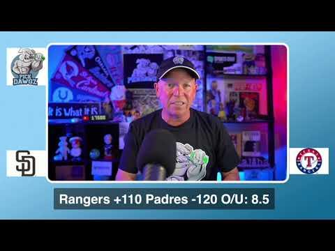 Texas Rangers vs San Diego Padres Free Pick 8/17/20 MLB Pick and Prediction MLB Tips