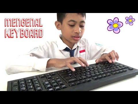 #2 Belajar Komputer - Cara Menggunakan Keyboard Komputer dengan BAIK dan BENAR - YouTube