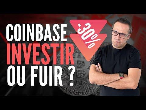 Coinbase explose les 100 milliards de $ puis perd 30% en 2 heures ! Investir en bourse ou fuir ?