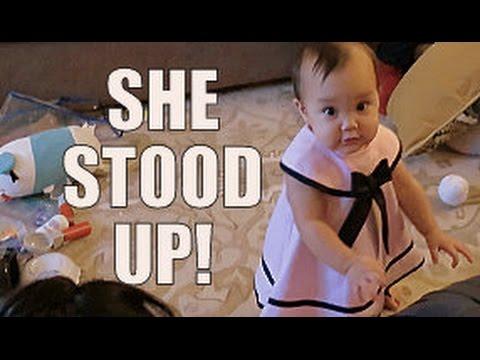 SHE STOOD UP!!! - January 24, 2015 -  ItsJudysLife Vlogs