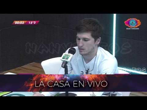 #GH 2016 Entrevista a Mauricio 15/08 1/2 - Radio con Vos Gran Hermano 2016