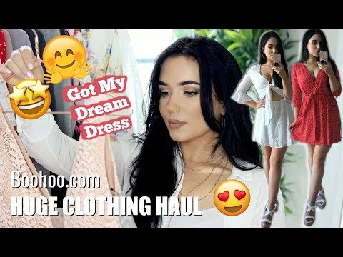 BOOHOO TRY ON HAUL | I FINALLY got NEW clothes | The Makeup Chair