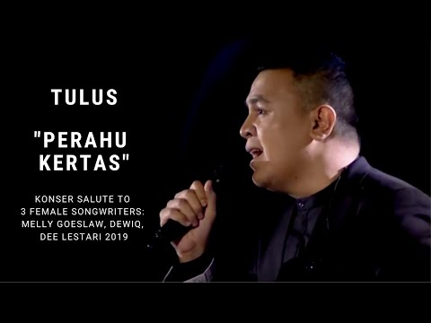 Tulus - Perahu Kertas (Konser Salute Erwin Gutawa to 3 Female Songwriters)