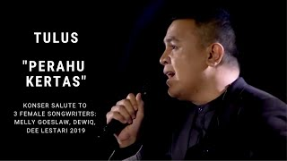 Tulus Perahu Kertas Konser Salute Erwin Gutawa To 3 Female Songwriters MP3