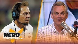 Colin's college football spoilers: Michigan vs Penn State, Alabama vs LSU | CFB | THE HERD