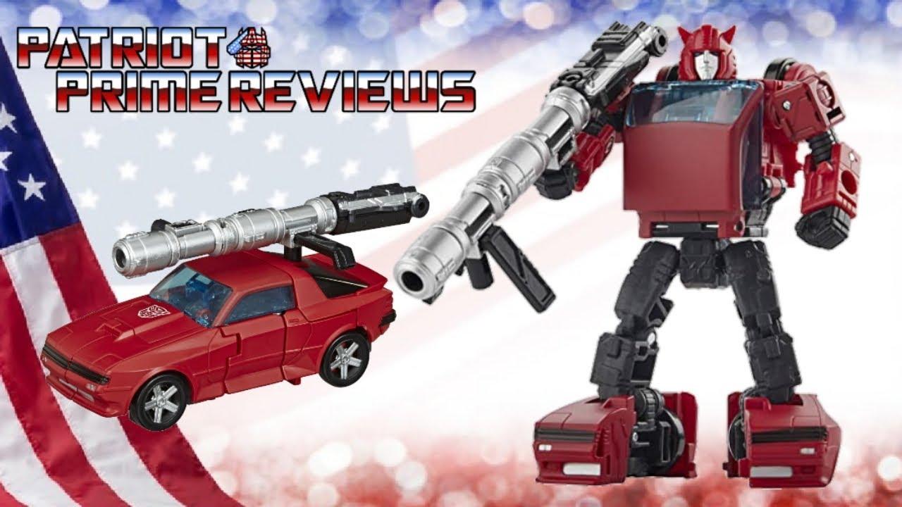 Patriot Prime Reviews Earthrise Cliffjumper