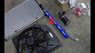 part 2/3 - E36 V8 344i DRIFT PROJECT SouthWays - chladič do kufru - radiator in the back DIY
