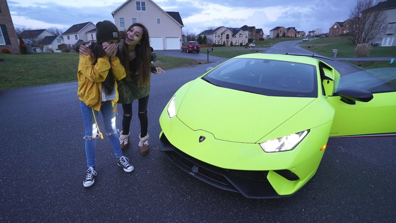 surprising-little-sister-with-lamborghini-for-her-birthday