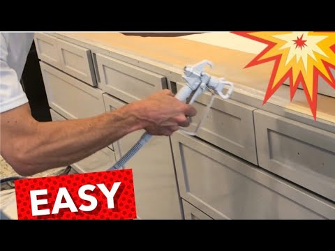 How To Paint & Repaint Cabinets- Rewarding!