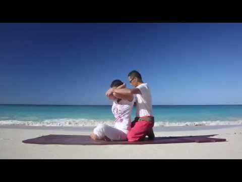 Dancing Thai Massage Advanced Practice at the Bahamas Sivana