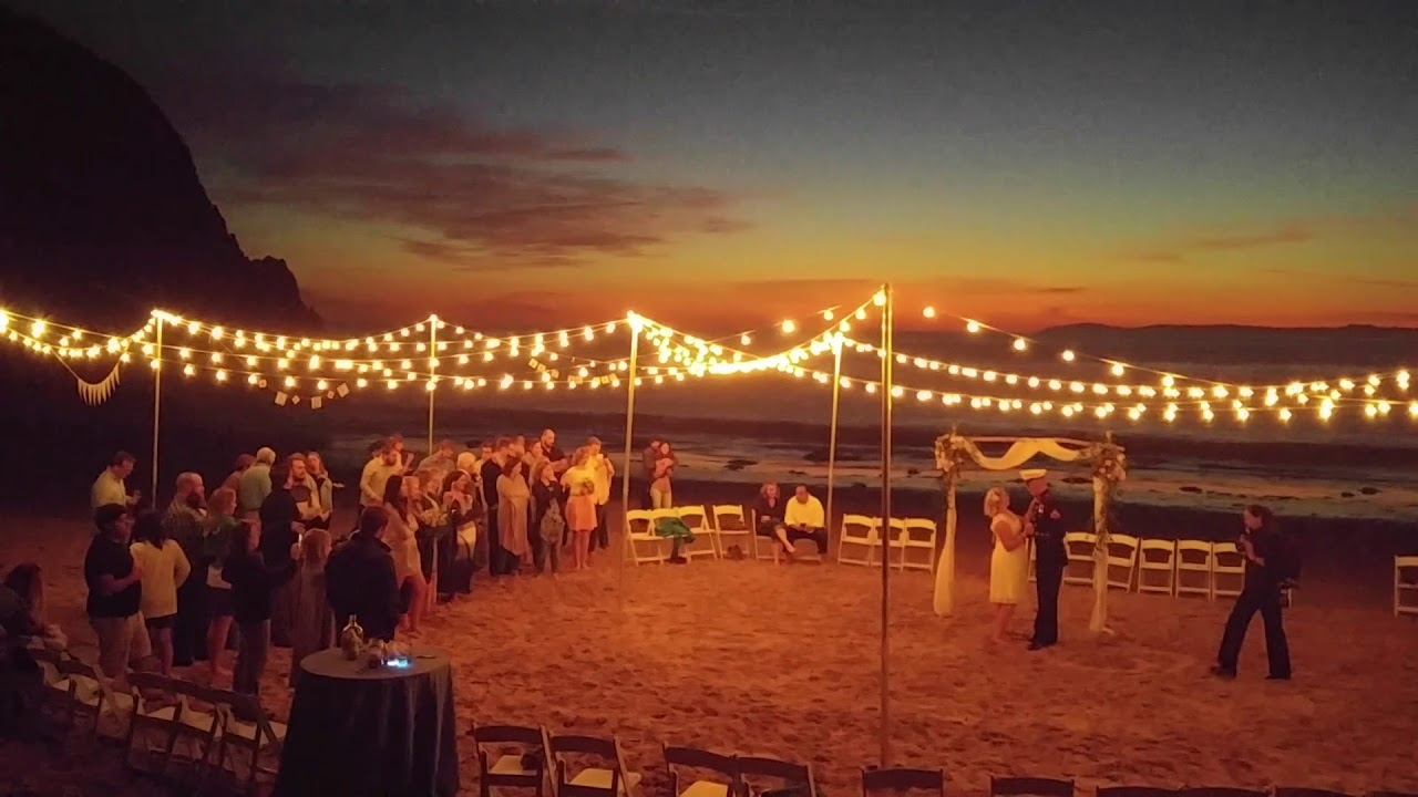Www Charliedjandlighting Beach Wedding Crystal Cove State Park In Laguna California