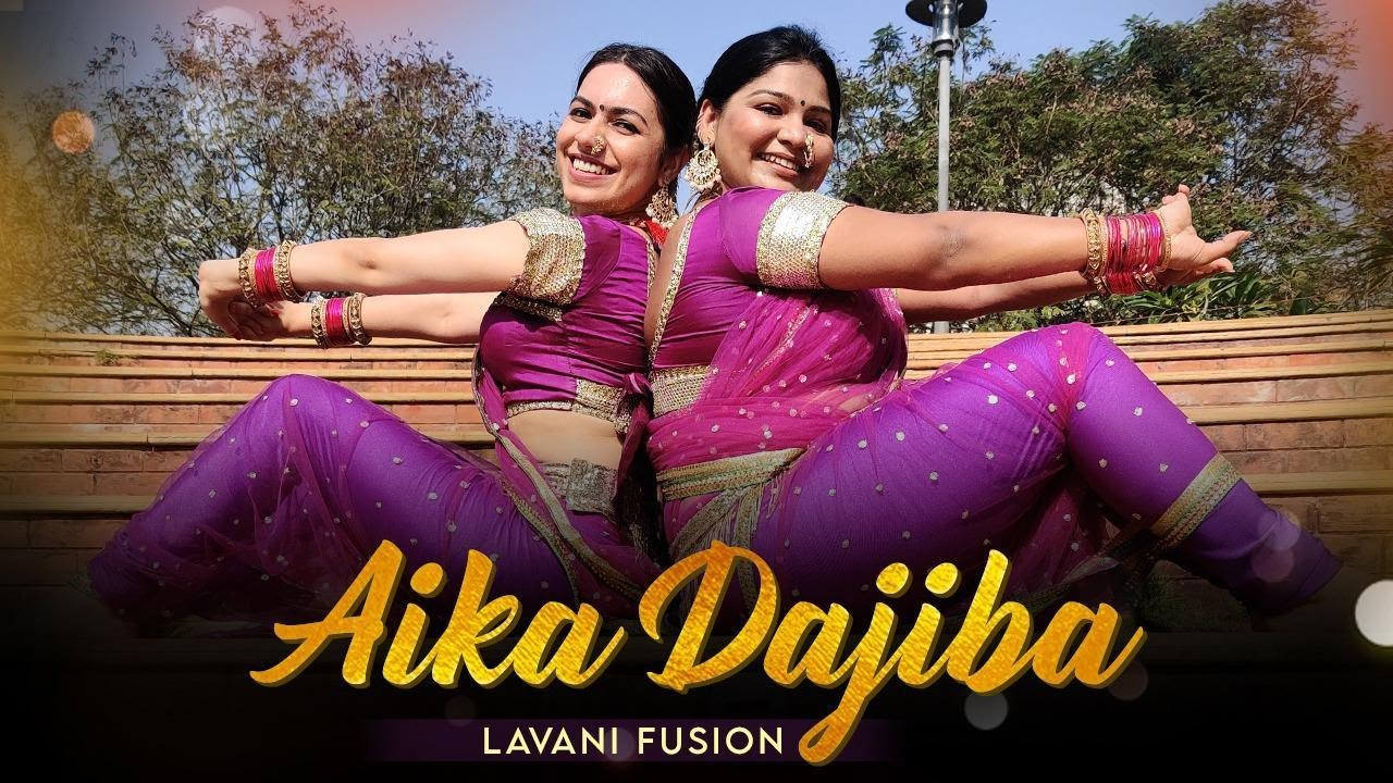 Aaika Dajiba - Lavani Fusion Dance Cover | Vaishali Samant | Sagarika Music | Ft.Tappin Around