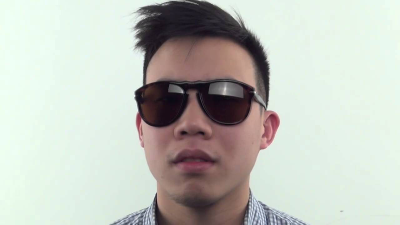 7f7b3c93485 Persol PO0649 24 33 A Sunglasses - VisionDirect Reviews - YouTube