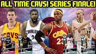 ALL TIME CAVS! SERIES FINALE! NBA 2K17 MYTEAM ONLINE GAMEPLAY