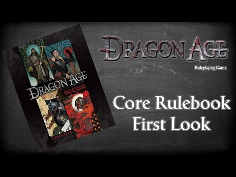 Dragon Age Role-Playing Game Core Rulebook By Chris Pramas First Look & Review, Fantasy Age