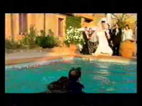 wedding swimming