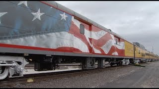 Inside tour of Bush 4141, President Bush's Funeral Train