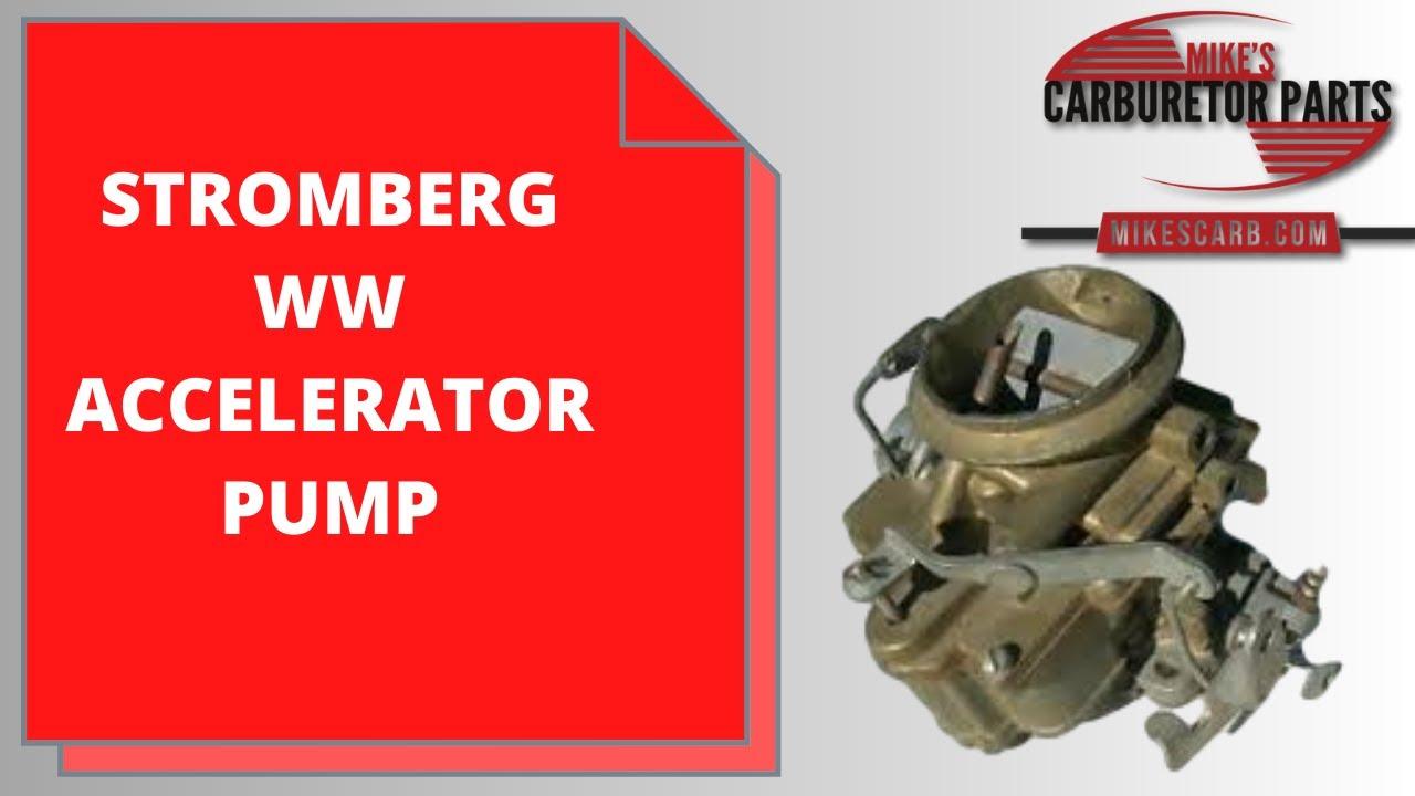Stromberg WW Accelerator Pump Circuit