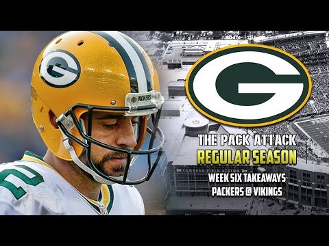 Green Bay Packers | Regular Season | Packers @ Vikings - Takeaways (LIVE)