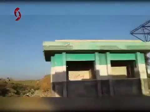 Daraa - Syrian Army At Nasib Border Crossing