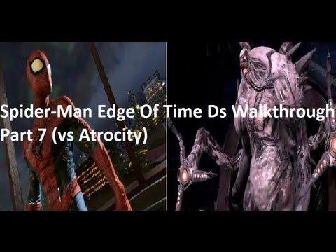 spiderman edge of time ds walkthrough part 7 vs atrocity