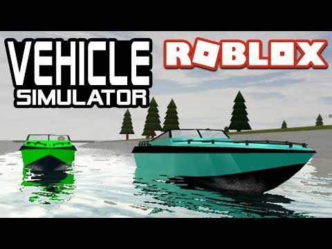 BOAT and JET SKI RACES in Vehicle Simulator | Roblox