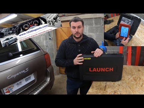 Présentation Valise Diagnostic Launch X431 PRO Multi-marques