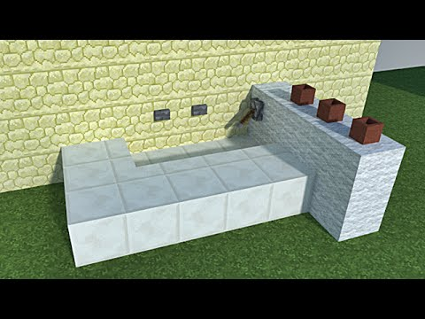 minecraft tutoriel de d coration int rieur et ext rieur. Black Bedroom Furniture Sets. Home Design Ideas