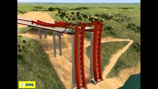 Alconetar Bridge - Construction Process thumbnail