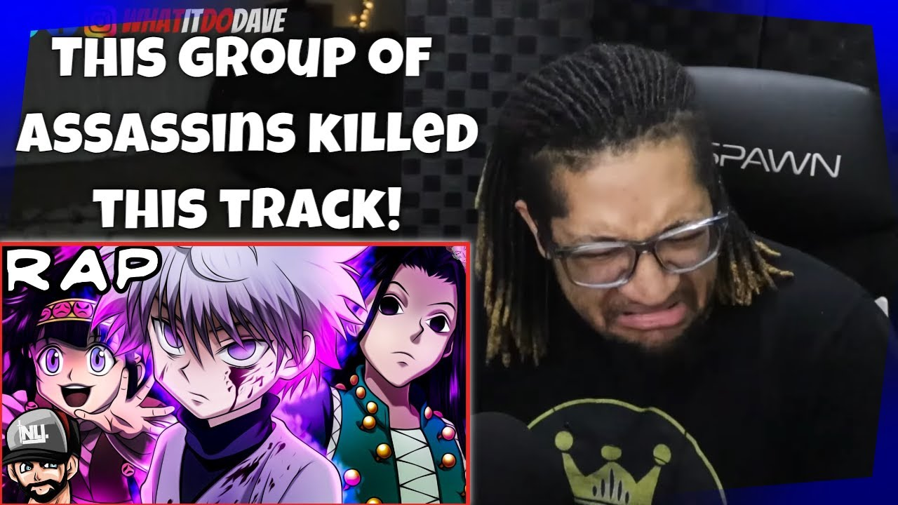 Reaction to Zoldyck Rap | NLJ, ironmouse​, Cam Steady​, Chi-chi​, SL!CK-TUNES NETWORK​, & More!