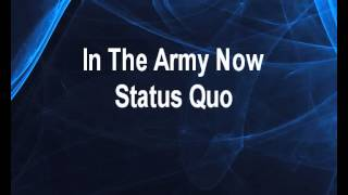 In the Army Now - Status Quo Karaoke tip