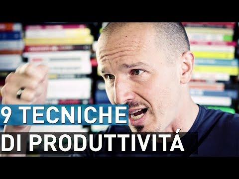 9 tecniche di produttivitá per esser piú organizzati