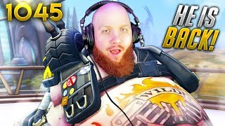 TimTheTatman IS BACK ON OVERWATCH!! | Overwatch Daily Moments Ep.1045 (Funny and Random Moments)