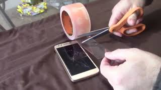 How to Fix your phones cracked screen...for FREE. screenshot 2